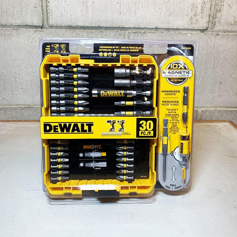 DEWALT デウォルト Surewdriving Bit Set