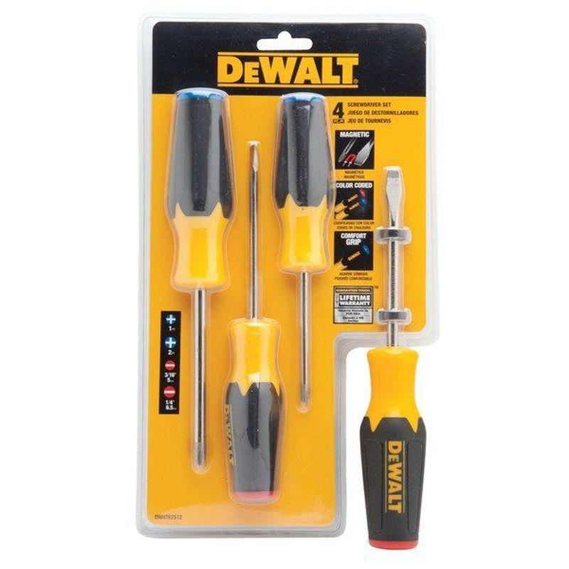DEWALT デウォルト 4 Screwdriver Set