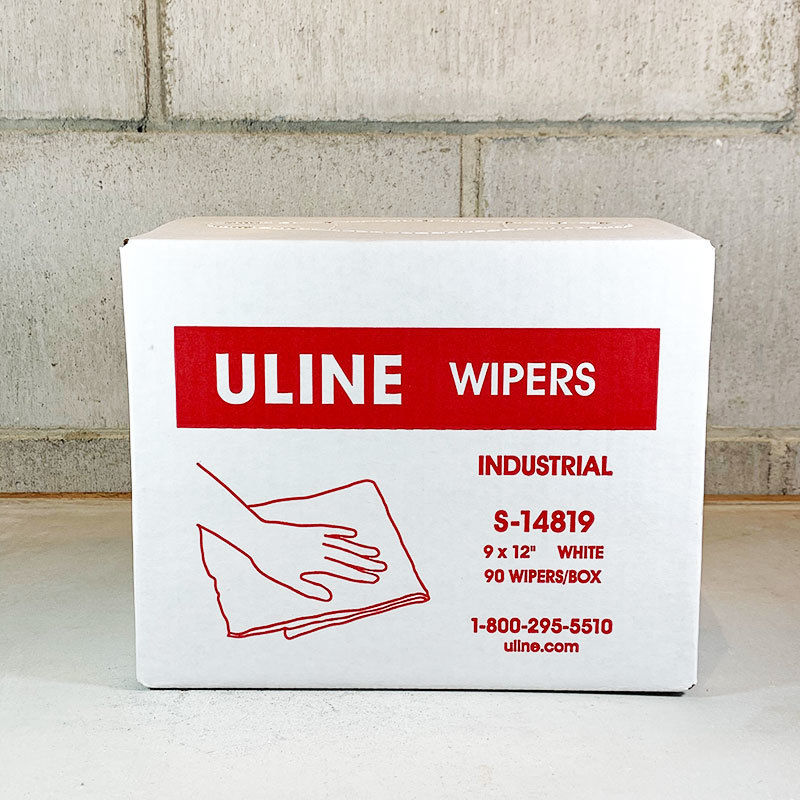 ULINE Industrial Wipers Dispenser Box