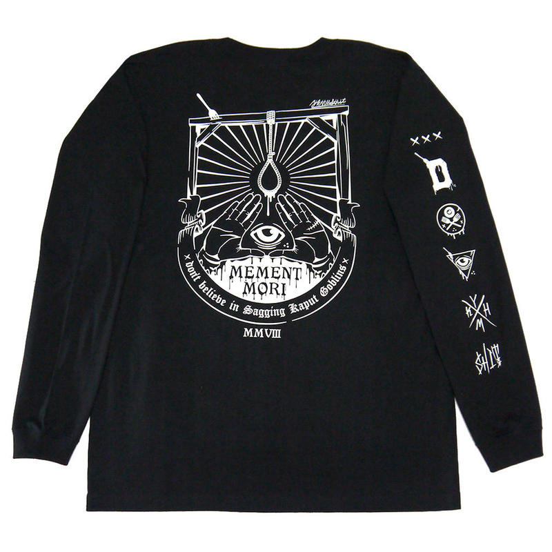 MEMENT MORI L/S Tee BLACK