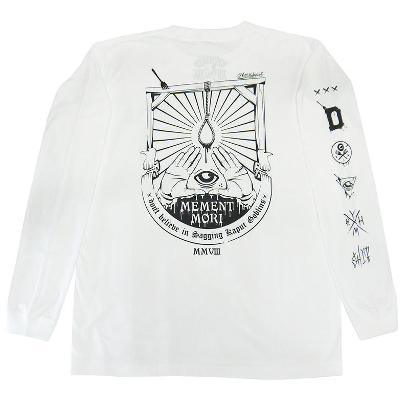 MEMENT MORI L/S Tee WHITE