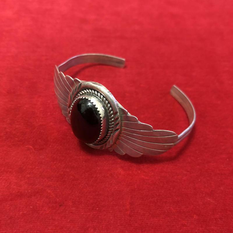 vintage stone bangle #TNB043