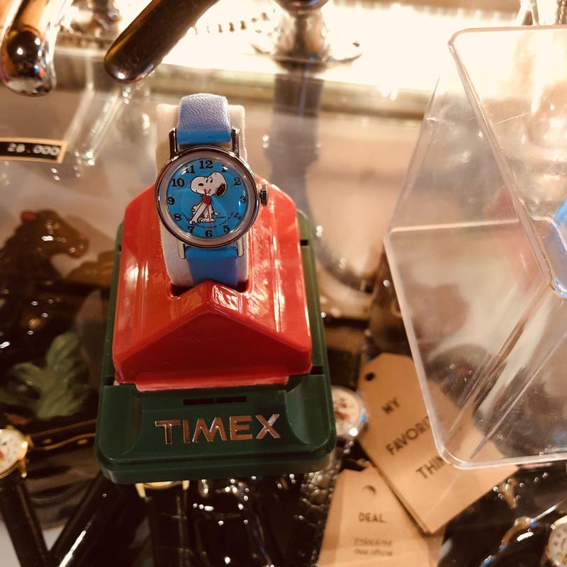 70's vintage  SNOOPY watch #W/7