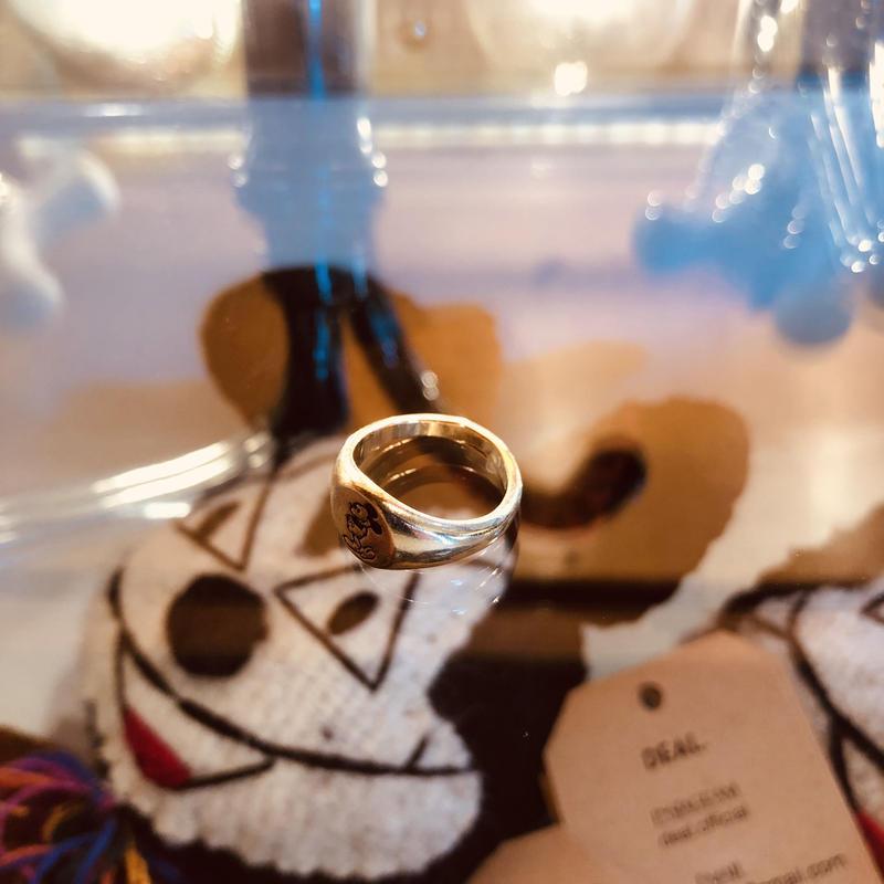 vintage mickey ring