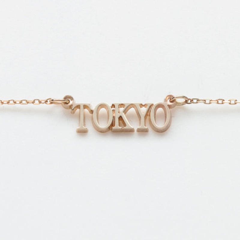 text necklace  -TOKYO-