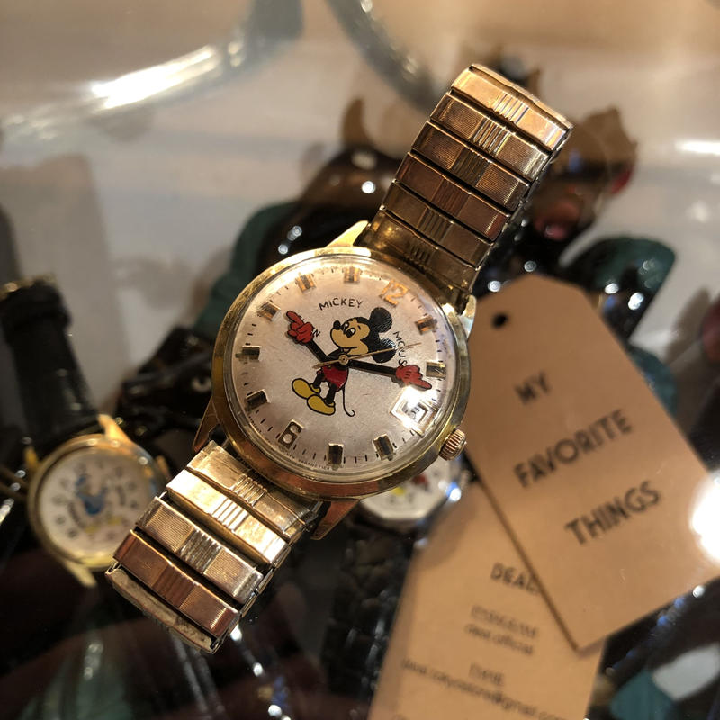 ELGIN vintage mickey watch #W/8