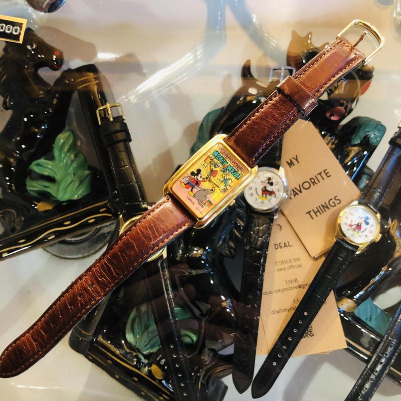 LORUS vintage  mickey's circus watch #W/10