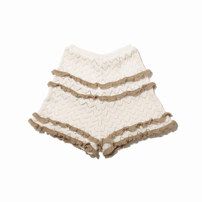 resort knit short pants