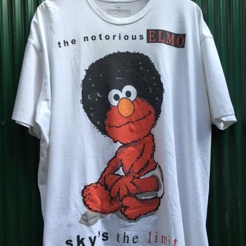 (T-shirts / used) The Notorious ELMO -sesame street