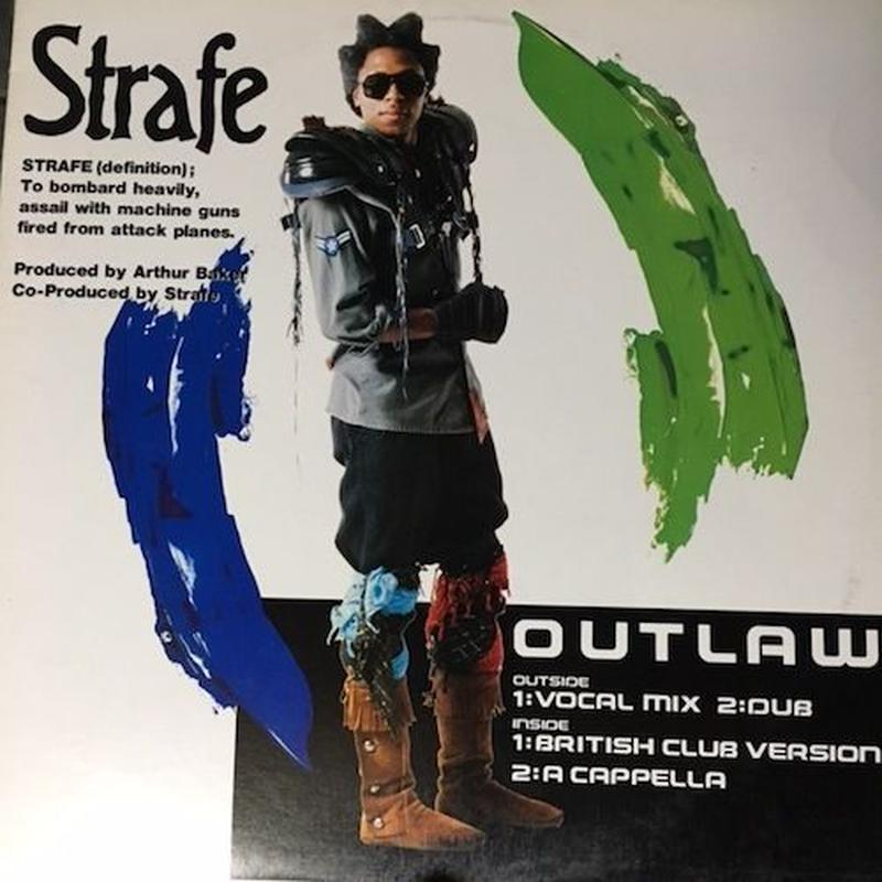 "(12"" / used) Strafe ‎/  Outlaw   <electro / boogie>"