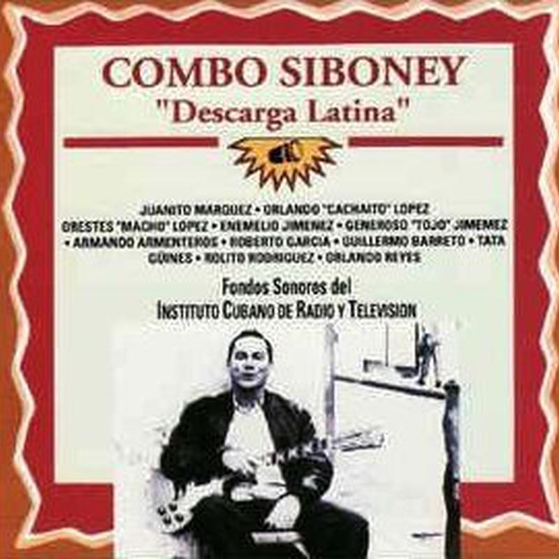 (CD) COMBO SIBONEY / Descarga Latina    <CUBA / latin jazz>