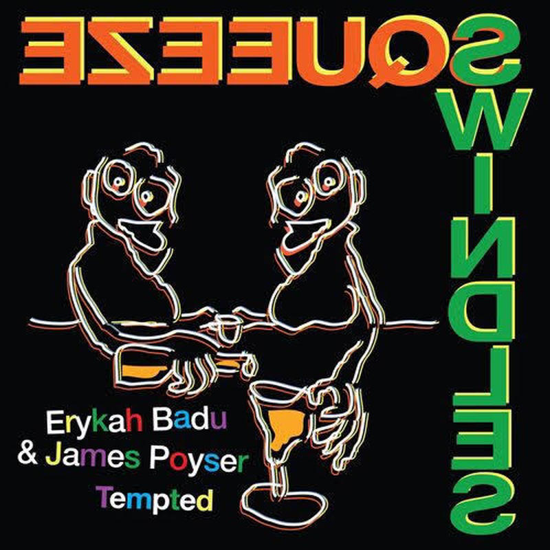"(7"") Erykah Badu & James Poyser / Tempted   <soul>"
