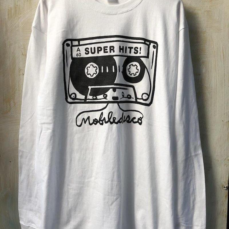 (T-shirts) mobiledisco TAPE L / S Tee  -XL-