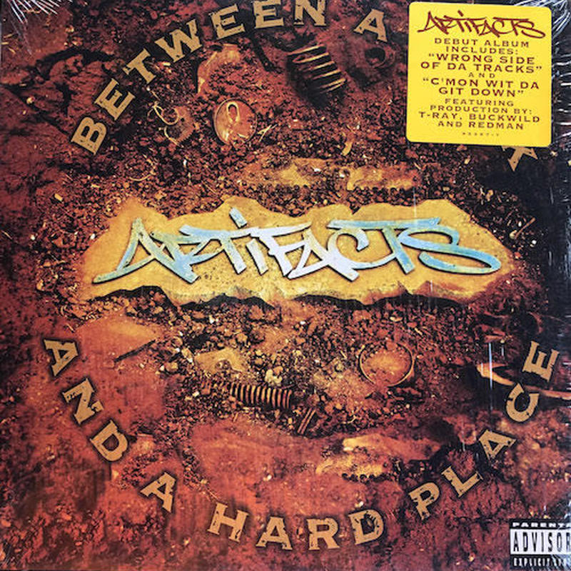 (2LP / used) ARTIFACTS / Between A Rock and A Hard Place    <HIPHOP / RAP>