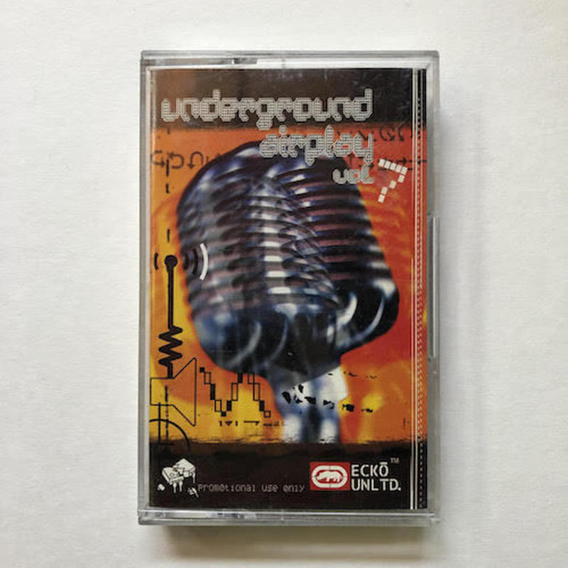 (TAPE) Various ‎/ Underground Airplay 7     <HIPHOP / RAP>