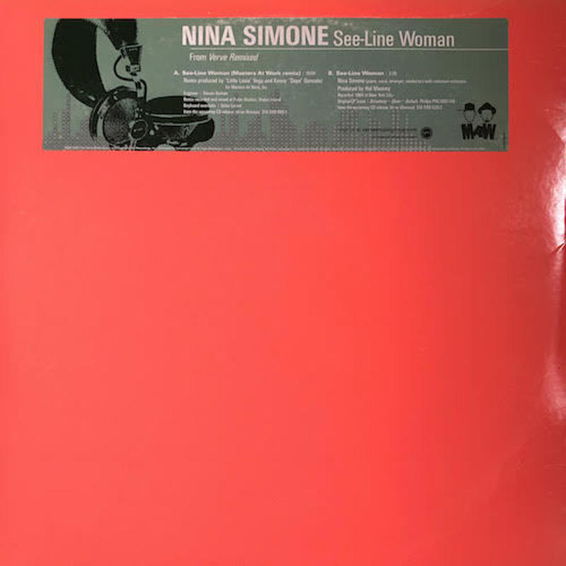 "(12""/ used) Nina Simone ‎/ See-Line Woman Remix    <soul / house>"