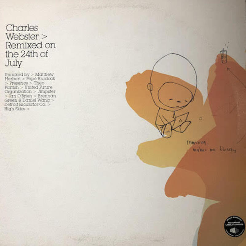 "(12""×2 / used) Charles Webster ‎/ Remixed On The 24th Of July    <house / downtempo>"