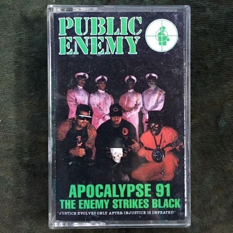 (TAPE)Public Enemy / Apocalypse 91... The Enemy Strikes Black   <HIPHOP / RAP>