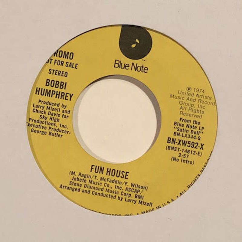 "(7"" / used) Bobbi Humphrey ‎/ Fun House PROMO  <jazz / funk>"