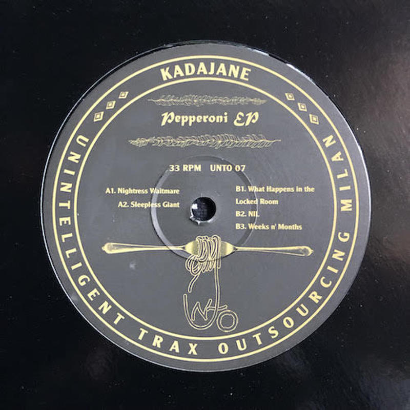 "(12""/ used) Kadajane ‎/ Pepperoni EP   <house / techno /acid>"