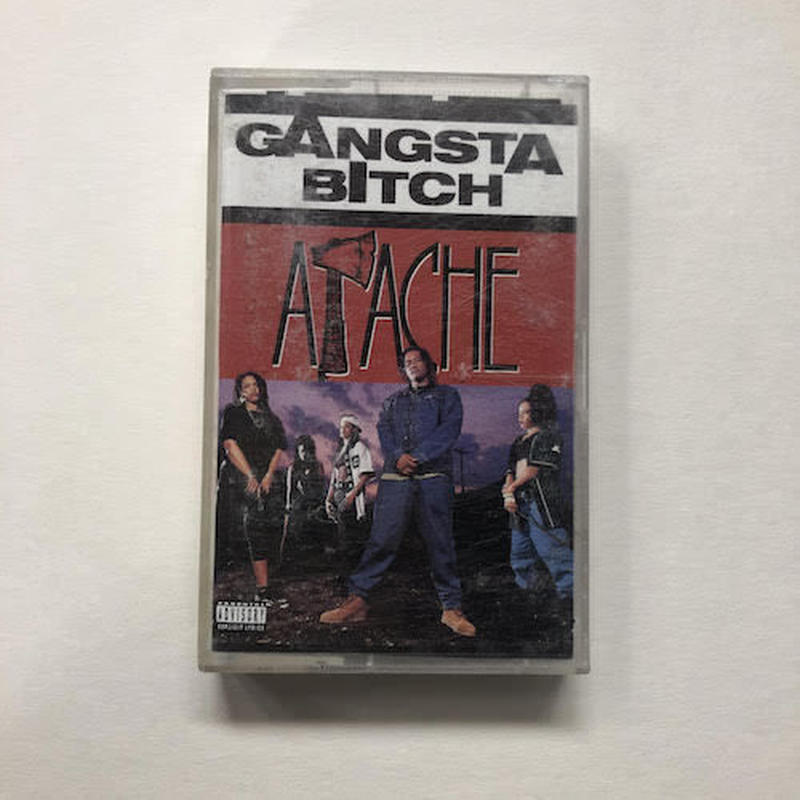 (TAPE) APACHE / GANGSTA BITCH - single w/sticker        <HIPHOP / RAP>