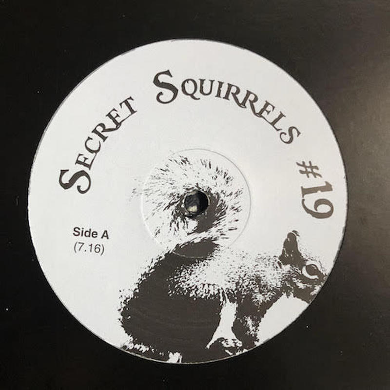 "(12"") Secret Squirrel  ‎/ Secret Squirrels #19    <house / boogie>"