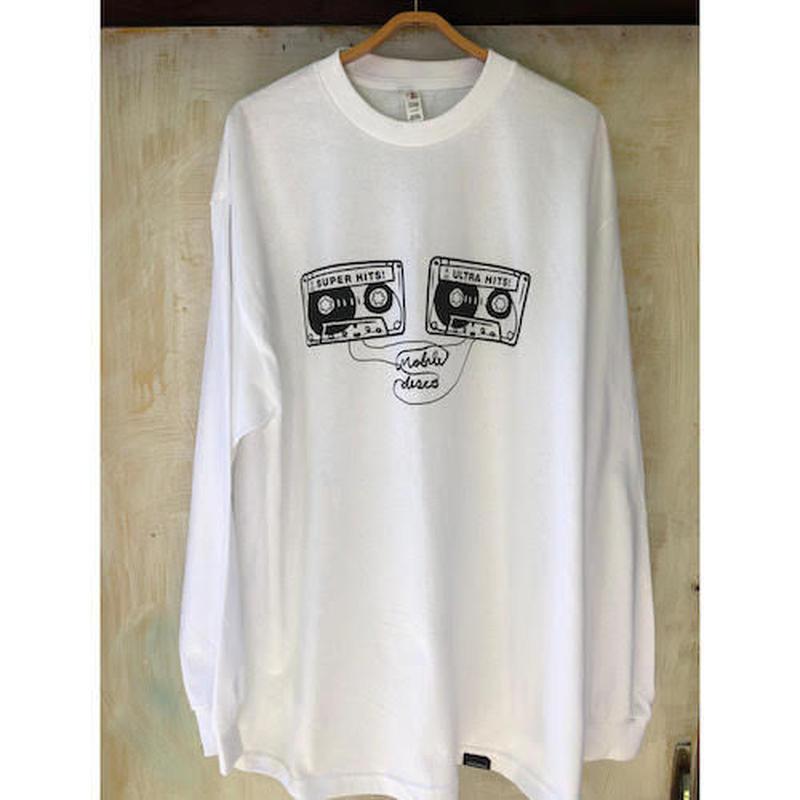 (T-shirts) mobiledisco TAPES L / S Tee -L- / -XL-