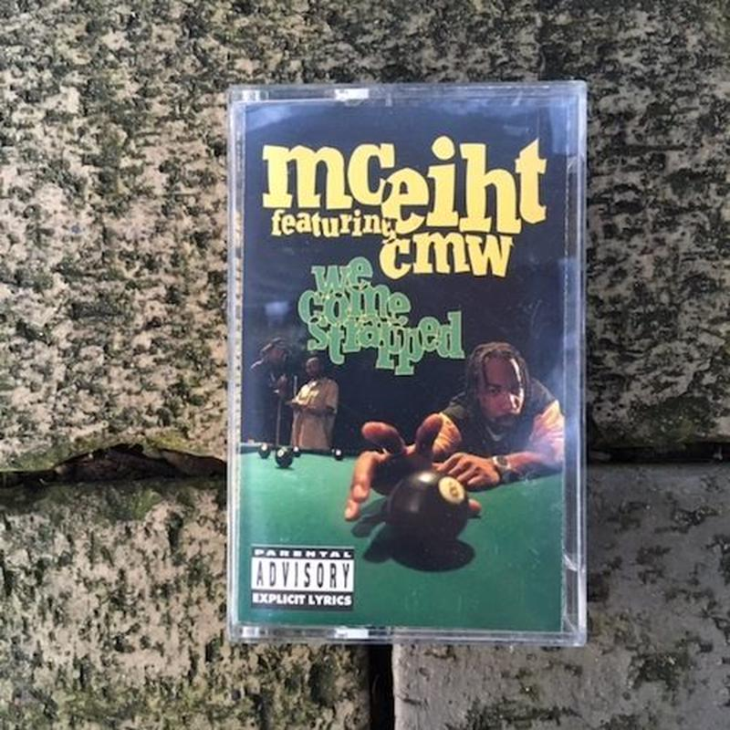 (TAPE) MC Eiht Featuring CMW ‎/  We Come Strapped  <HIPHOP / G-RAP>