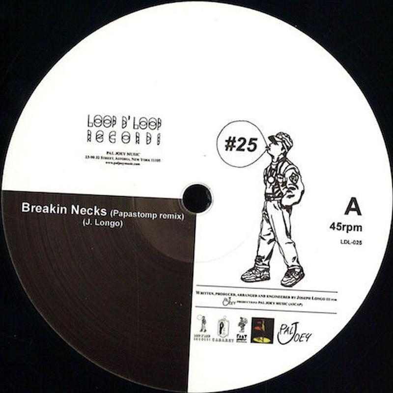 """(12"""") Pal Joey / #25   <break beats / house >"""