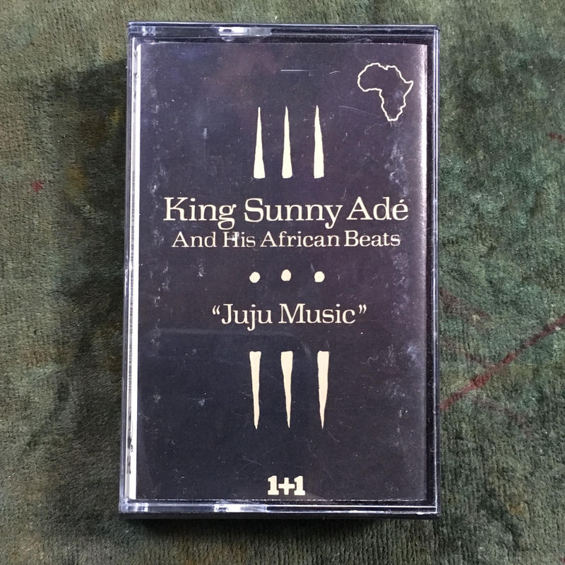 (TAPE) King Sunny Ade/ juju       <afro >
