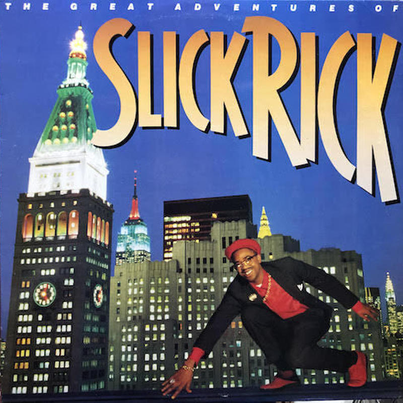 (LP / used) SLICK RICK / The Great Adventures of...   <HIPHOP / RAP>