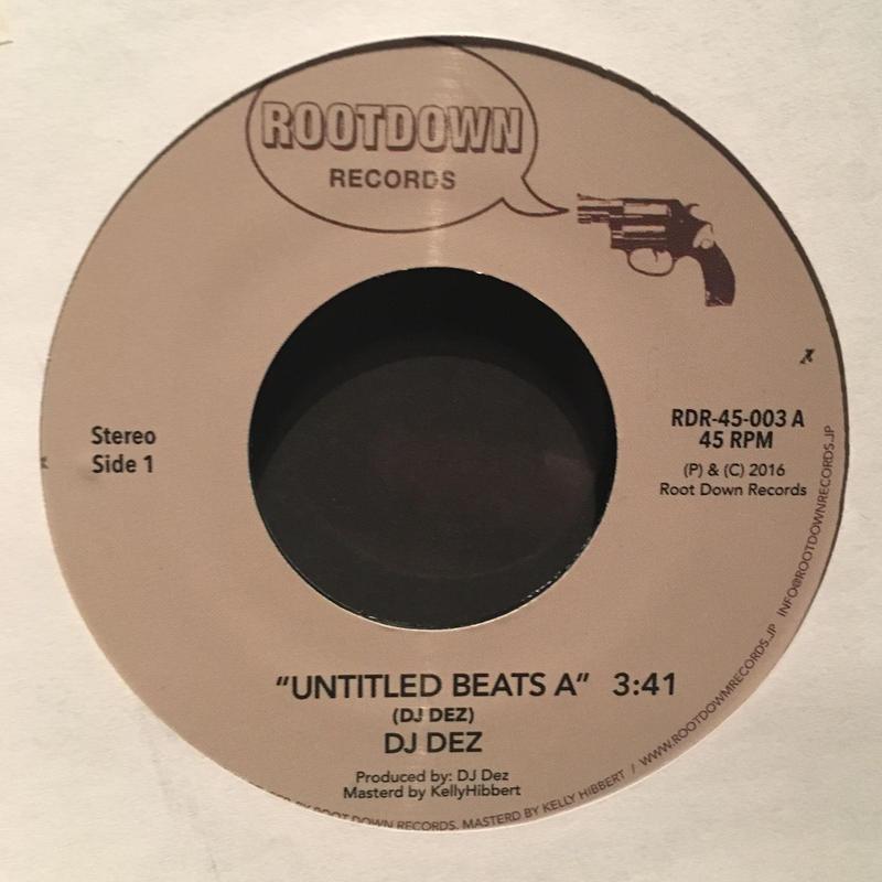 "(7"") DJ DEZ a.k.a.Andres / Untitle Beats    <HIPHOP/RAP>"