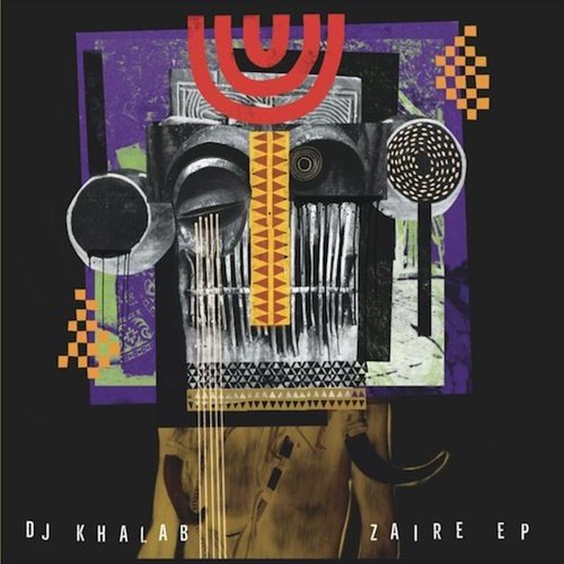"""(12"""") DJ KHALAB  / ZAIRE   <world / hibrid / electronics>"""