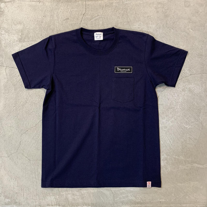 D18006《Pocket Tshirts》C/# NAVY