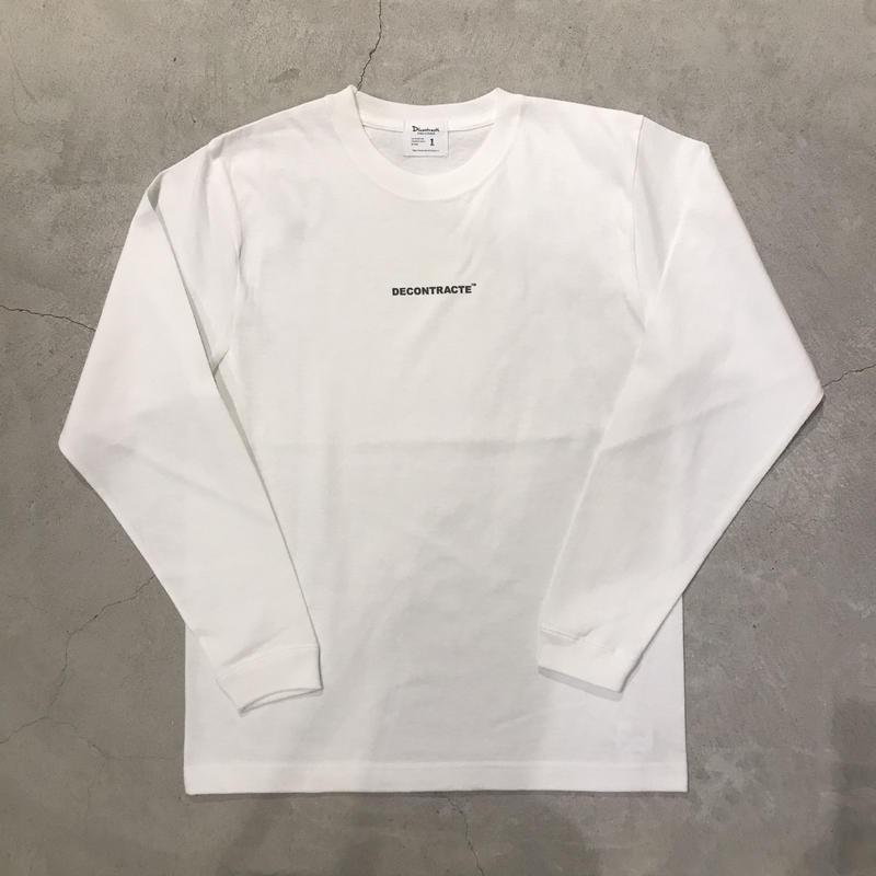 D18022《Mini Logo L Tshirt》 C/# WHITE