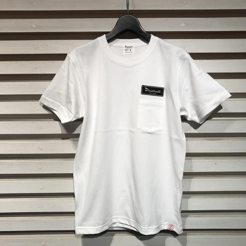 D18006《Pocket Tshirts》C/# WHITE