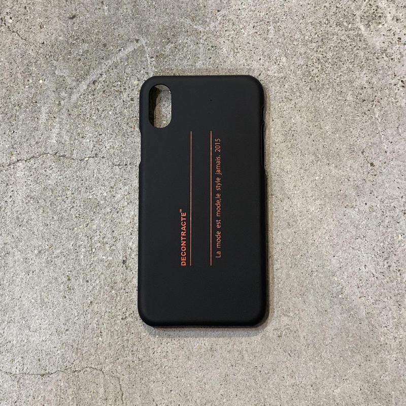 i Phone Case  C/# BLK×RED