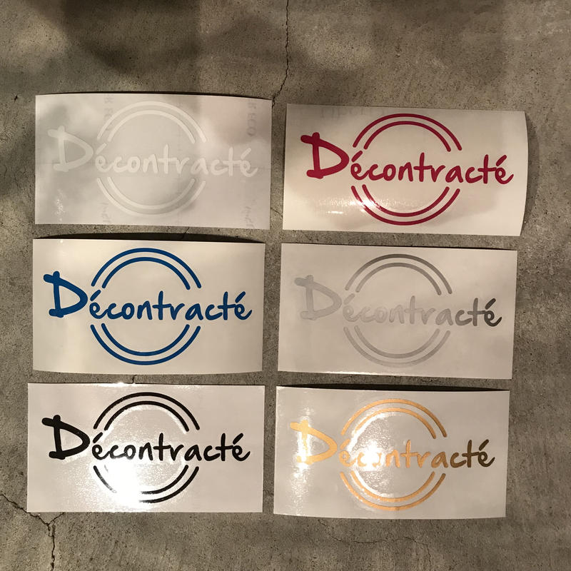 Cutting Logo Sticker
