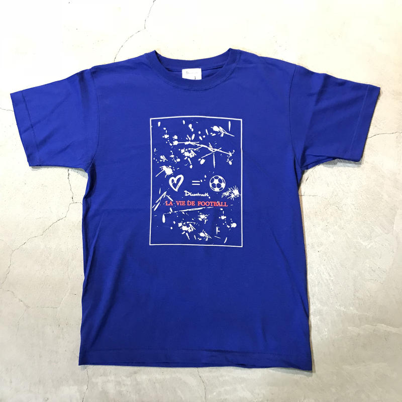 D18014《Paint T shirt》C/# BLUE