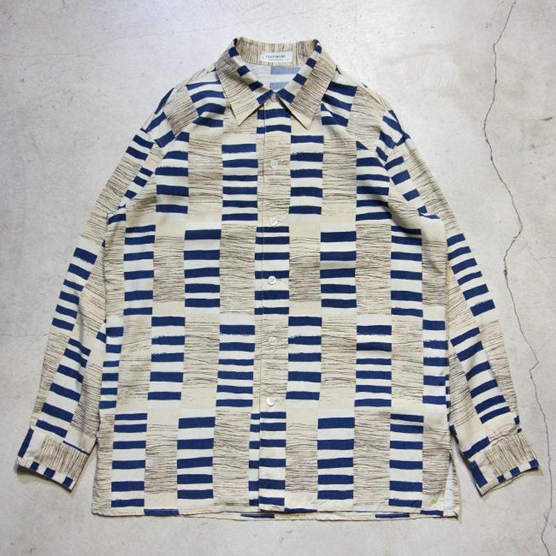 90's EQUIPMENT Box L/S Shirts フランス製 極上 シルク