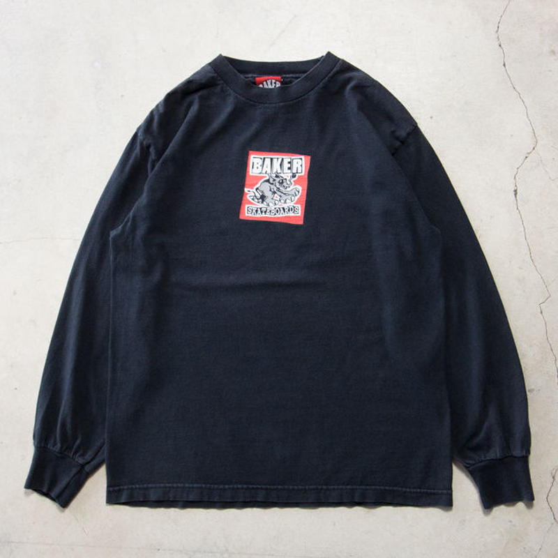00's BAKER Skateboards L/S T-shirts アンドリューレイノルズ