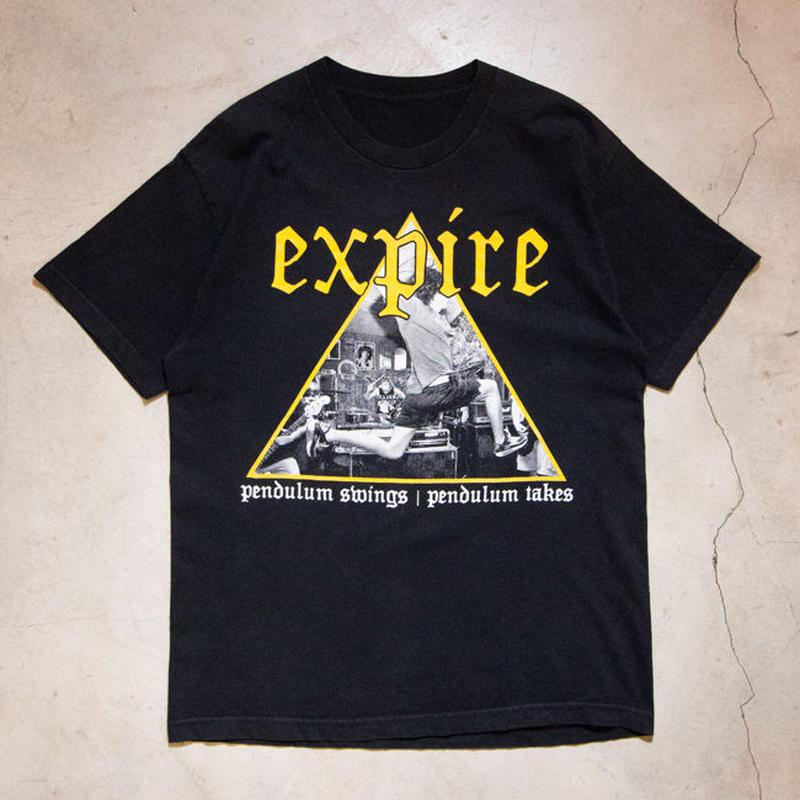 """Expire """"Pendulum Swings, Pendulum Takes"""" S/S T-shirts ハードコア"""