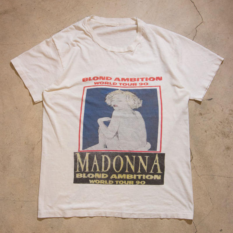 "'90 MADONNA ""BLOND AMBITION WORLD TOUR"" マドンナ VOGUE"