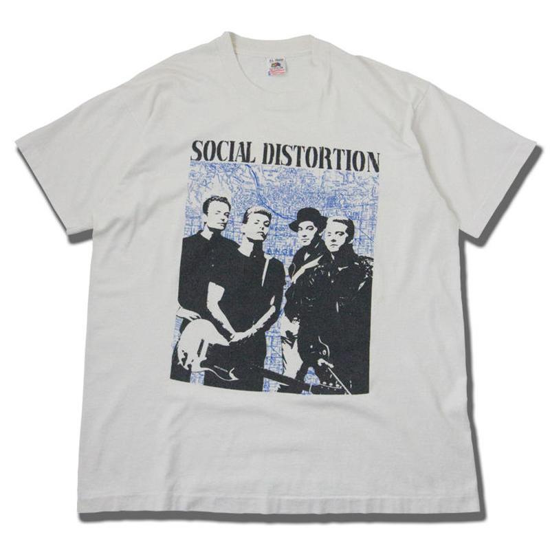 80's Social Distortion Vintage T-shirts ソーシャル・ディストーション マイク・ネス