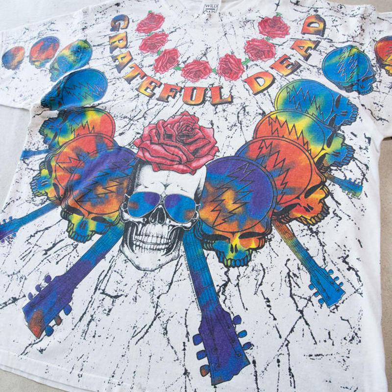 '92 GRATEFUL DEAD S/S 総柄T-shirts グレイトフルデッド デッドヘッズ