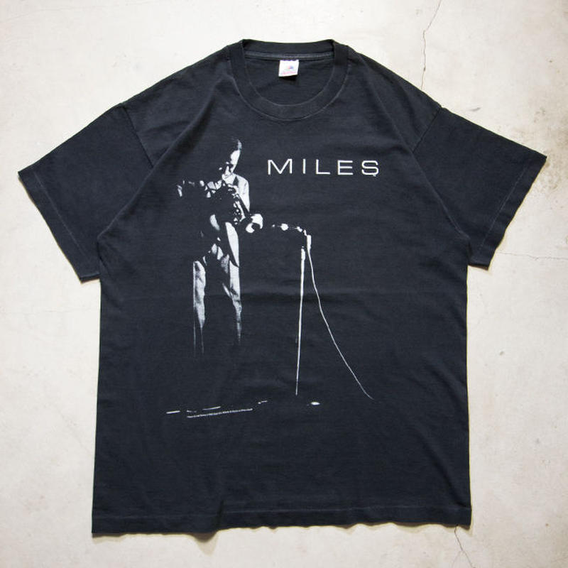 '92 Miles Davis S/S T-shirts マイルスデイビス ジャズ XL