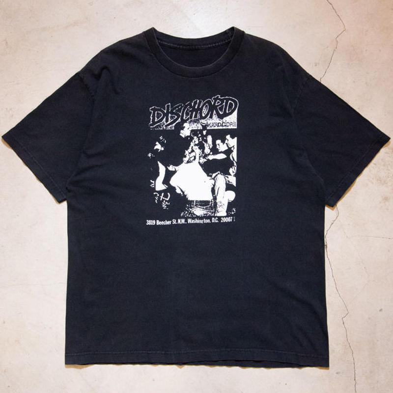 DISCHORD Records S/S T-shirts ハードコア マイナー・スレット