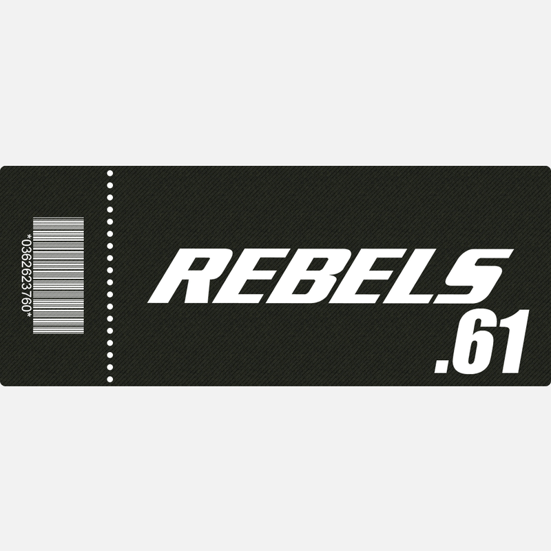 【TICKET】REBELS.61 C席 2019.6.9 後楽園ホール