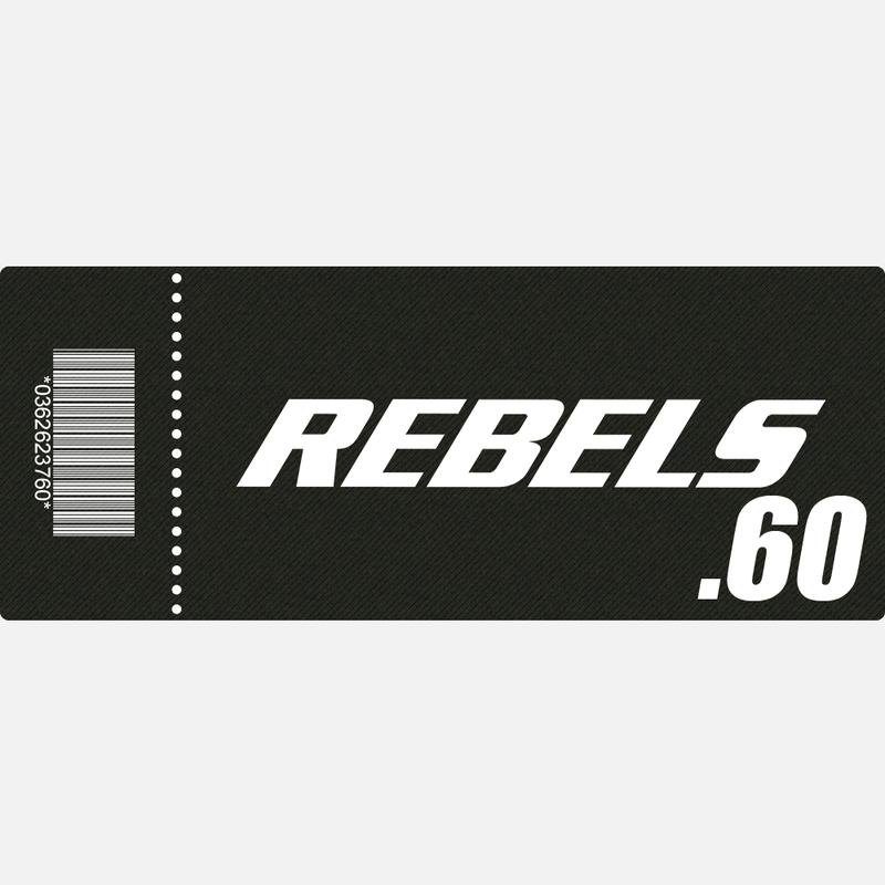 【TICKET】REBELS.60 B席 2019.4.20 後楽園ホール
