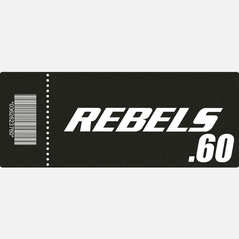【TICKET】REBELS.60 A席 2019.4.20 後楽園ホール